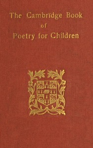 Cambridge Poetry cover