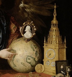 detail from Allegory of Vanity, by Antonio de Pereda