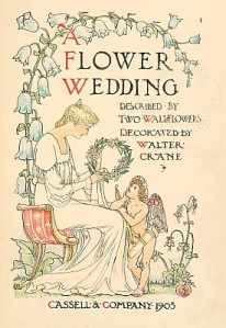 A Flower Wedding title page