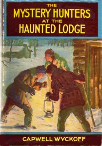 The Mystery Hunters at the Haunted Lodge cover