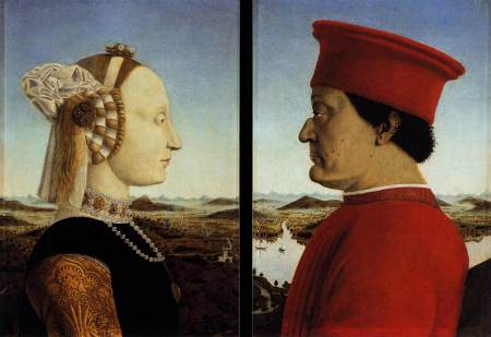 Duke and Duchess of Urbino