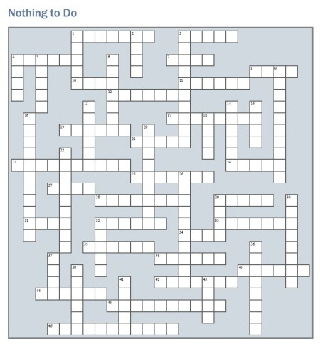 nothingtodo_crossword_image
