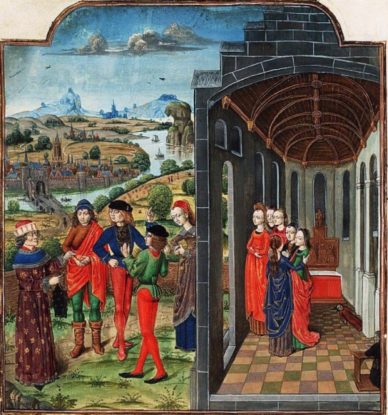 Giovanni_Boccaccio_and_Florentines_who_have_fled_from_the_plague